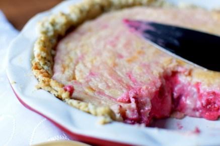 Raspberry Lemonade Cream Pie with Lemon Poppyseed Crust-034
