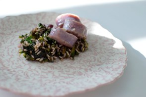 sauteed-grape-spinach-sausage