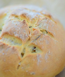 Salted Rosemary Olive Oil Bread-008