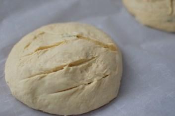 Artisan Basil Bread & Lime Butter