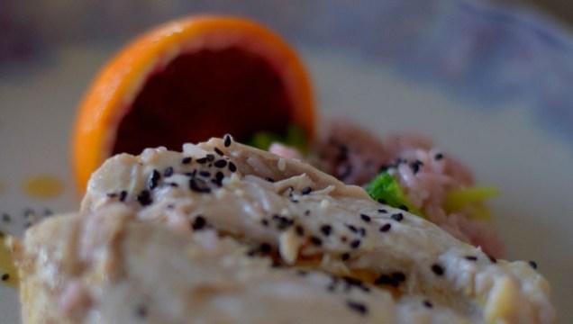 Blood Orange Sesame Chicken & Broccoli