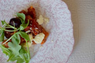 Tomatoes Figs & Rosemary with Lemon Stilton-005