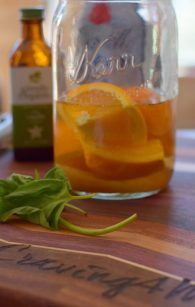 Vanilla Orange Basil Muddled Rum-001