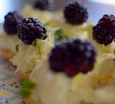 Lemon Vanilla Mint Tartlettes-002