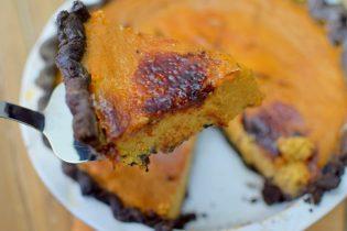 Maple Pumpkin Chocolate Bruleed Pie-026
