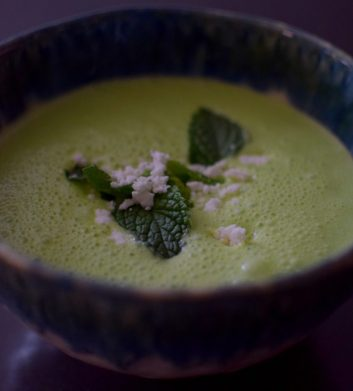 Minted Pea Soup-001