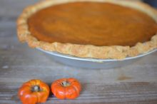 Super Spiced Sweet Pumpkin Pie