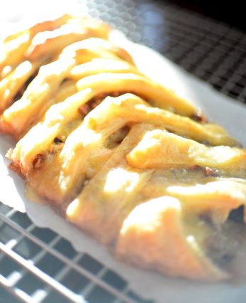 Cranberry Triple Cream Braid-005