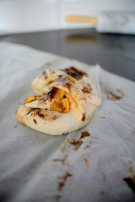 Sweet Cinnamon Orange Marmalade Chocolate Swirl Bread-006