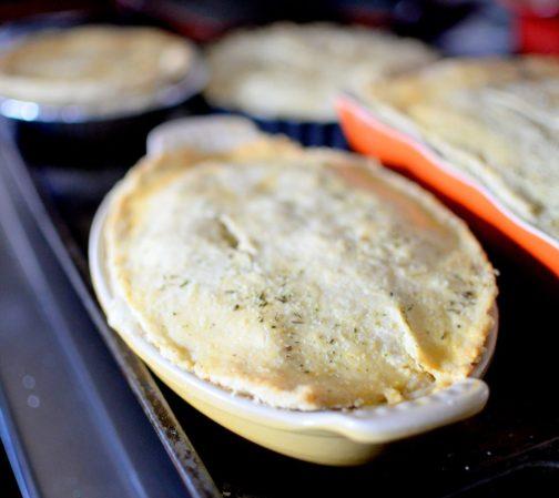 Chicken Mushroom Pot Pie-012