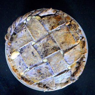 Lemon Blueberry Vanilla Cream Pie-021