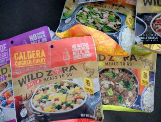 Wild Zora Paleo Meals to Go Product Review