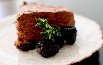 Triple Chocolate Blackberry Rosemary Silk Cake-018