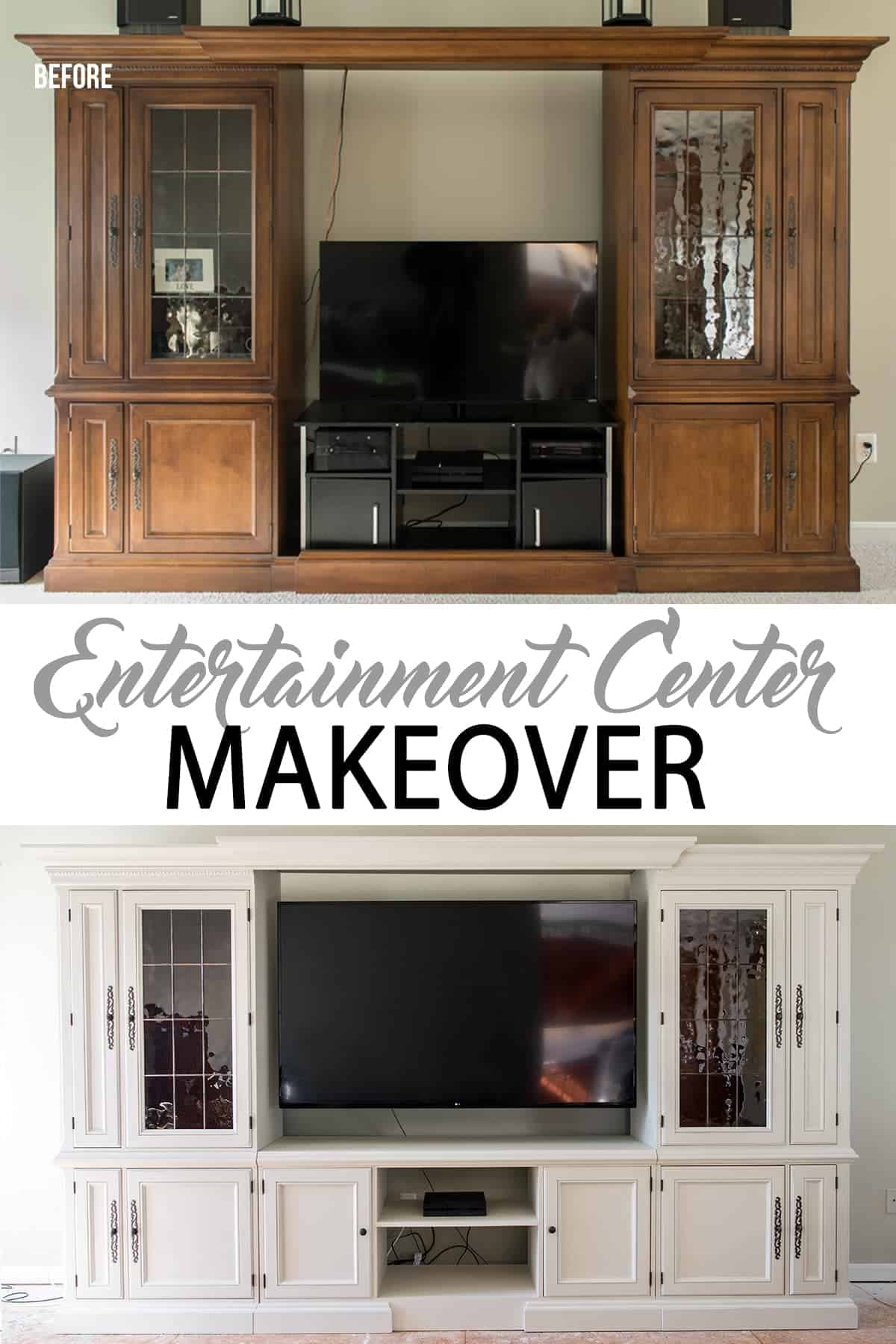 ORC Week 4 Entertainment Center Makeover Our Biggest