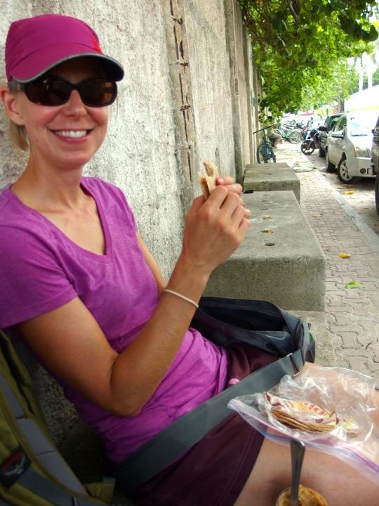 Picnic Lunch in Playa del Carmen
