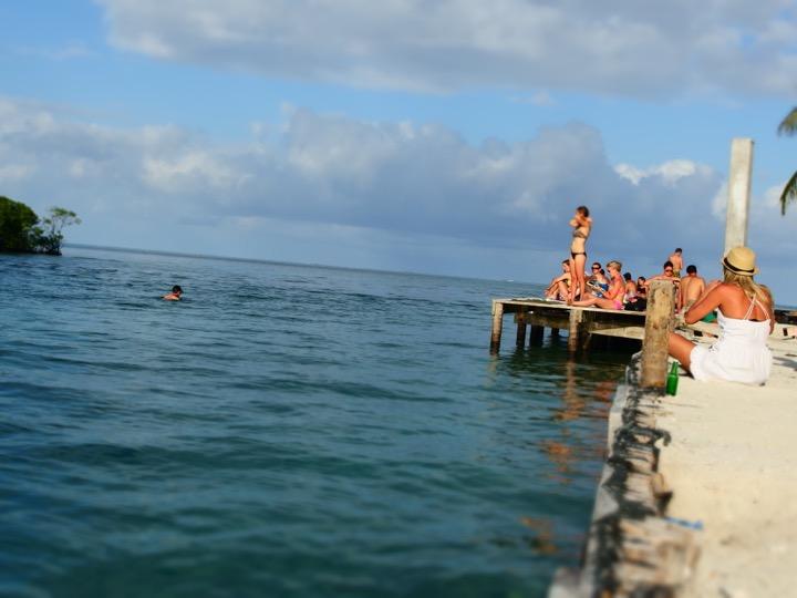 Martin Swimming At The Split