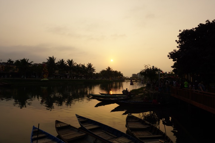 Sunset, Hoi An