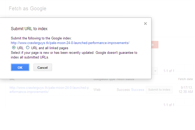 google indexing 6