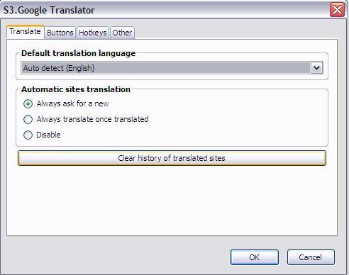 Best translation options for websites