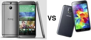 Samsung galaxy S5 vs. HTC One M8