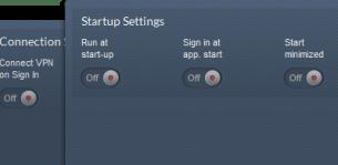 CactusVPN settings