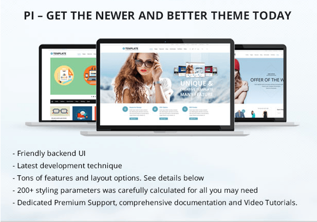 Pi WordPress theme review