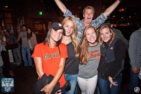 Union Street Pub Crawl Photo Bomb