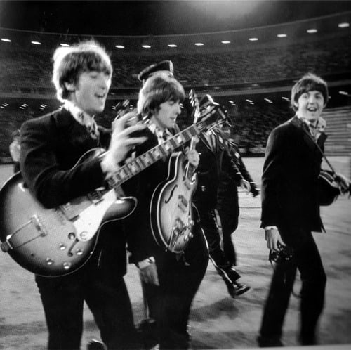 The Beatles played Candlestick Park