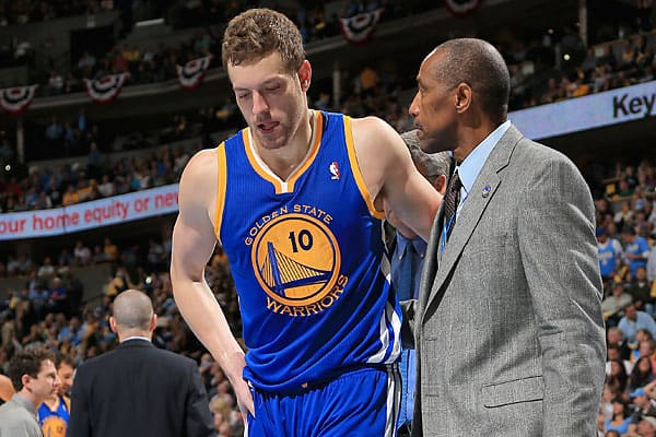 Golden State Warriors David Lee out for NBA Playoffs 2013