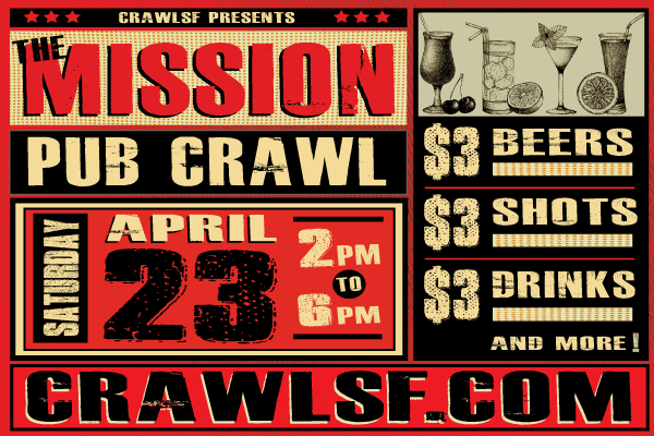 Mission Pub Crawl San Francisco
