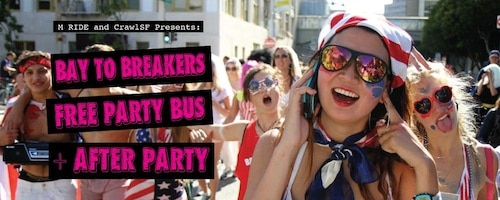 Bay to Breakers Party Bus
