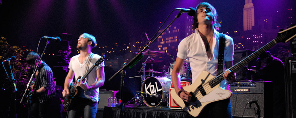 Kings of Leon Live at Shoreline Amphitheater