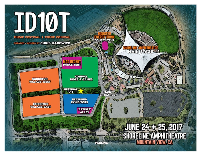 ID10T Festival Map