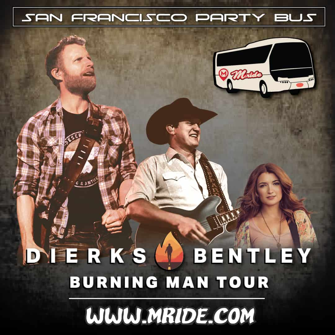 Shoreline Amphitheater Shuttle Bus Dierks Bentley