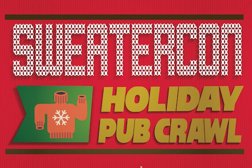 Santacon San Francisco Sweatercon Pub Crawl