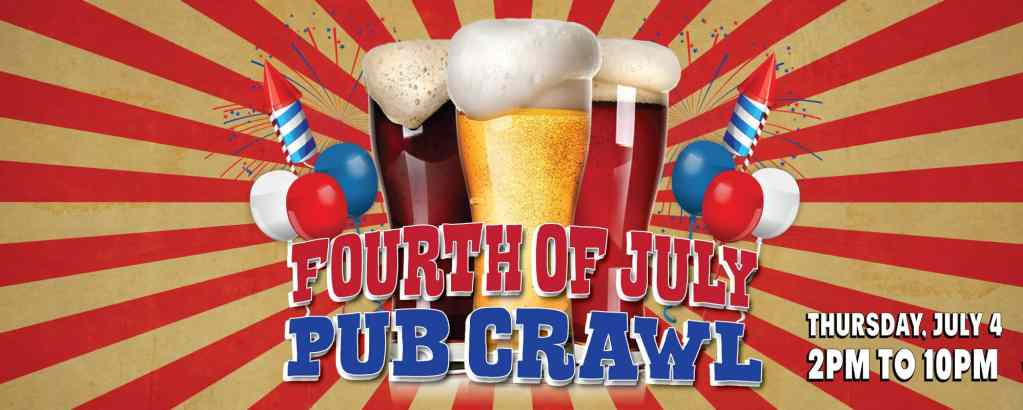 San Francisco Fourth Of July Pub Crawl & Hot Dog Eating Contest 2019