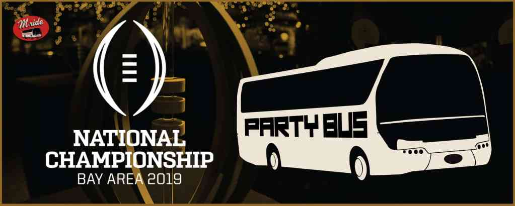 2019 College Football Playoff National Championship Shuttle Bus