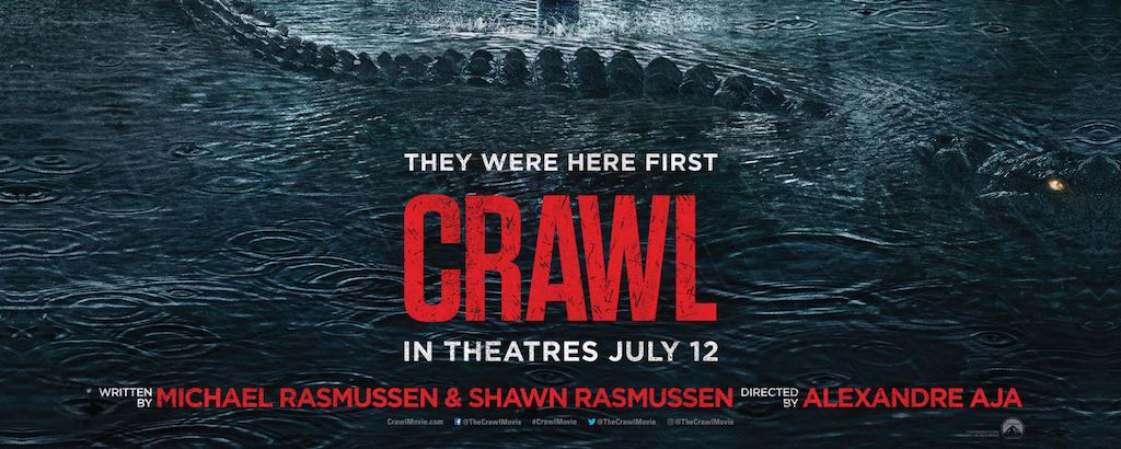 Alligators Attack on the Big Screen…The Crawl Movie Hits Theaters on July 12