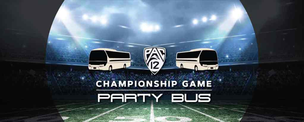 Pac 12 Championship Party Bus to Levi's Stadium