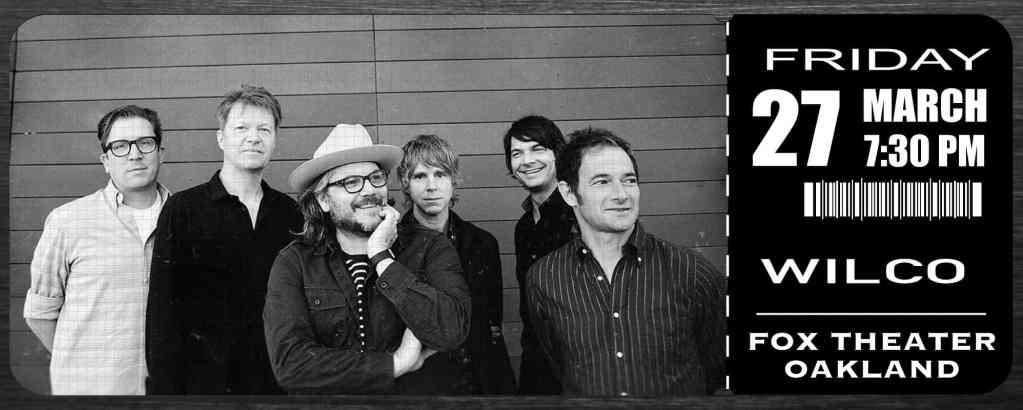 Wilco Live at Fox Theater