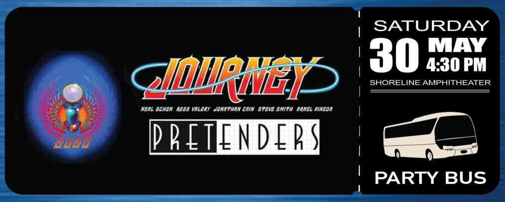 Shoreline Amphitheater Shuttle Bus: Journey