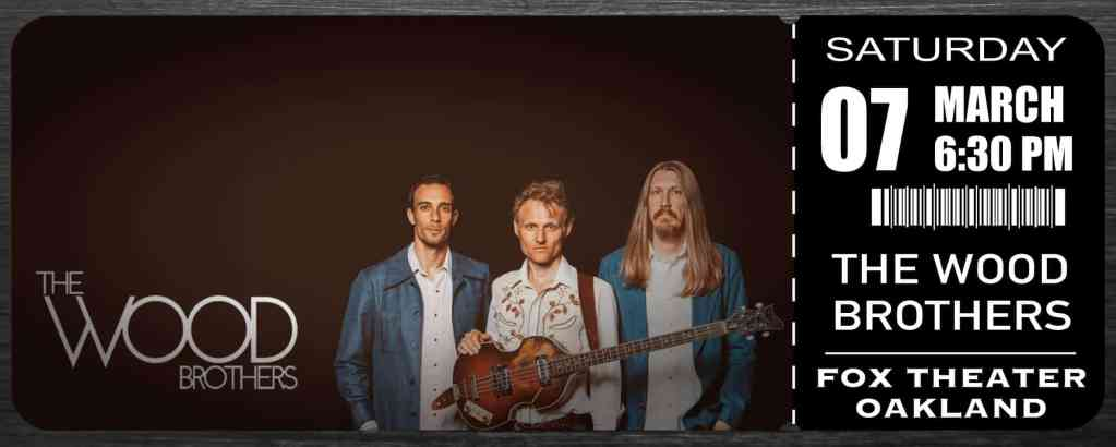 The Wood Brothers at Fox Theater