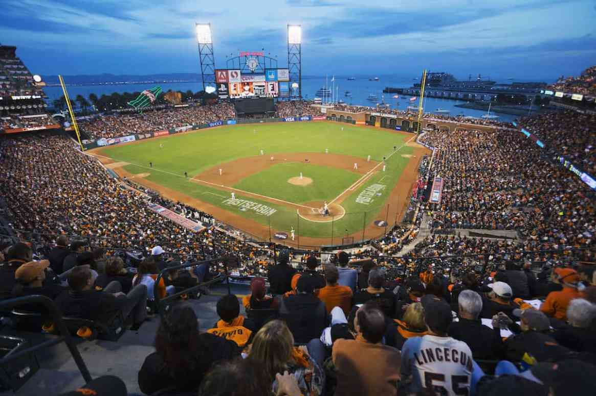 San Francisco Giants Game at Oracle Park