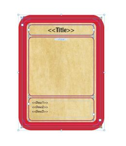 InDesign Card Template