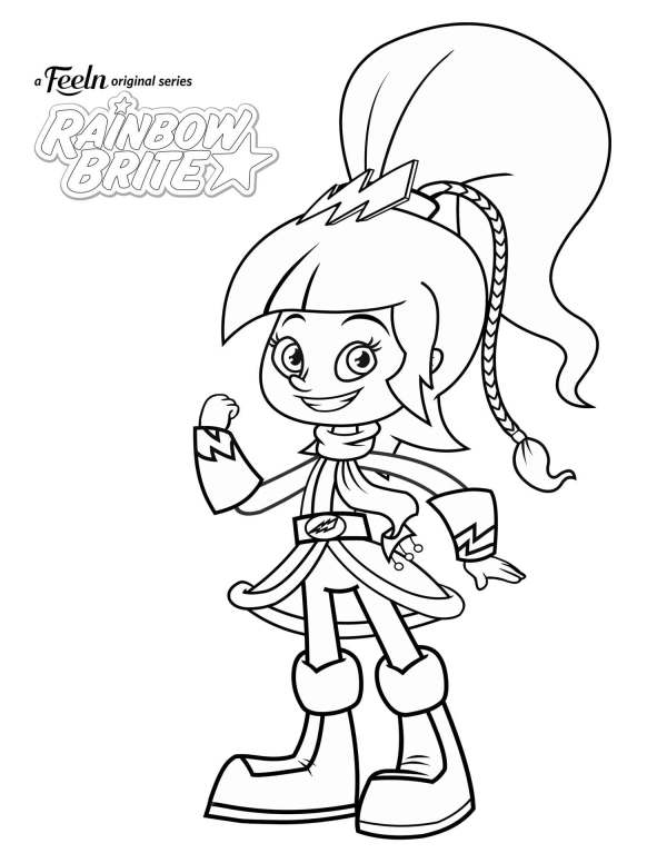 rainbow brite coloring pages # 50