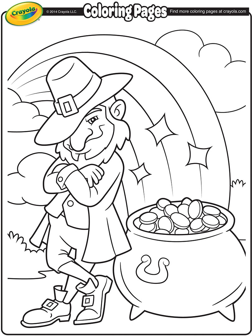 St Patrick S Day Free Coloring Pages Crayola Com