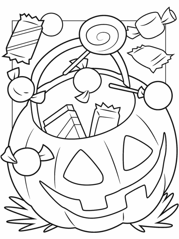 coloring pages halloween # 5