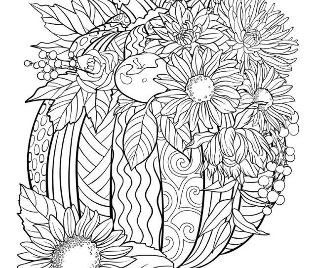 Pumpkin Coloring Page Crayola Com