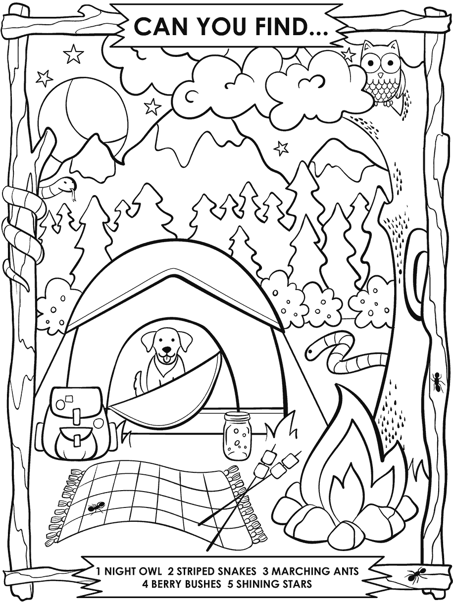 Summer Free Coloring Pages Crayola Com