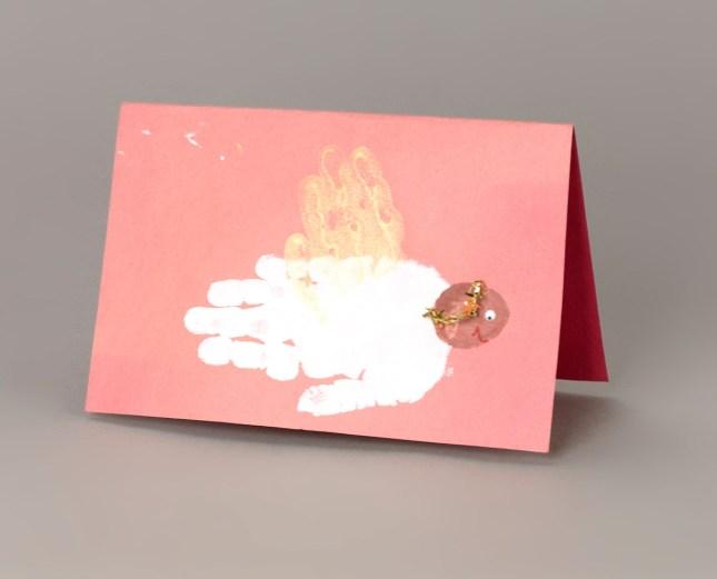 Handprint Christmas Angels Craft